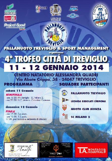 Pallanuoto Trofeo Citt Di Treviglio Nuoto Pallanuoto
